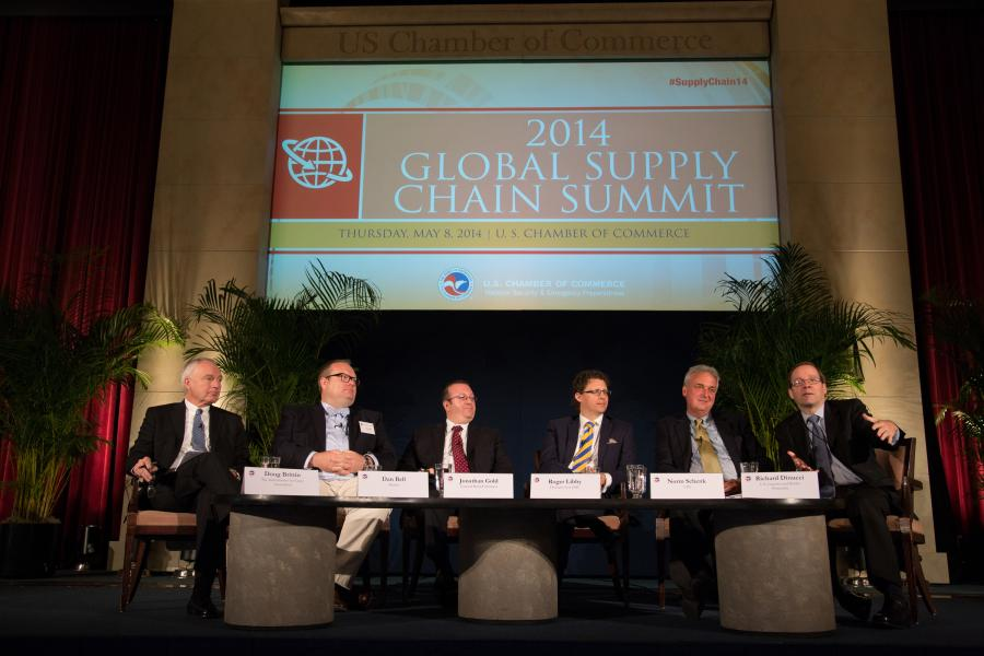 Global Supply Chain Summit 2015 Connecting Businesses to Global Markets  US Chamber of Commerce