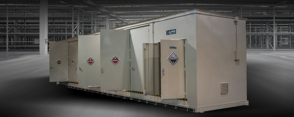 Pesticide Storage Buildings by US Chemical Storage