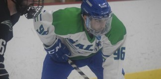 Danny Eruzione of Salve Regina (Ed Habershaw – Salve Regina Athletics)