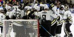 Weekend Atlantic Hockey shootout between Air Force, Army West Point sees cadets 'go absolutely crazy'