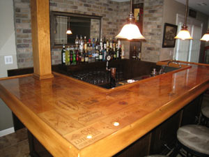 Bar Top Epoxy