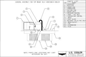 Technical Design Drawings – US Cooler
