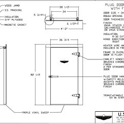 Typical Wiring Diagram Walk In Cooler Ez Go Gas Replacement Doors  U S
