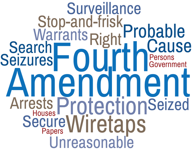 Image result for image of the 4th amendment