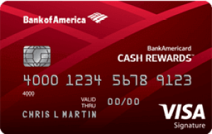 Bankamericard Cash Rewards Rental Car Insurance