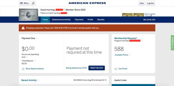 How To Avoid Financial Review Fr From Amex Us Credit Card Guide