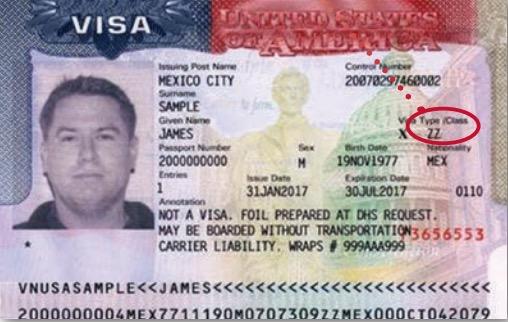 美国签证分类大全