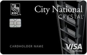 cnb crystal visa infinite credit card review 20189 update 75k offer - Metal Visa Card