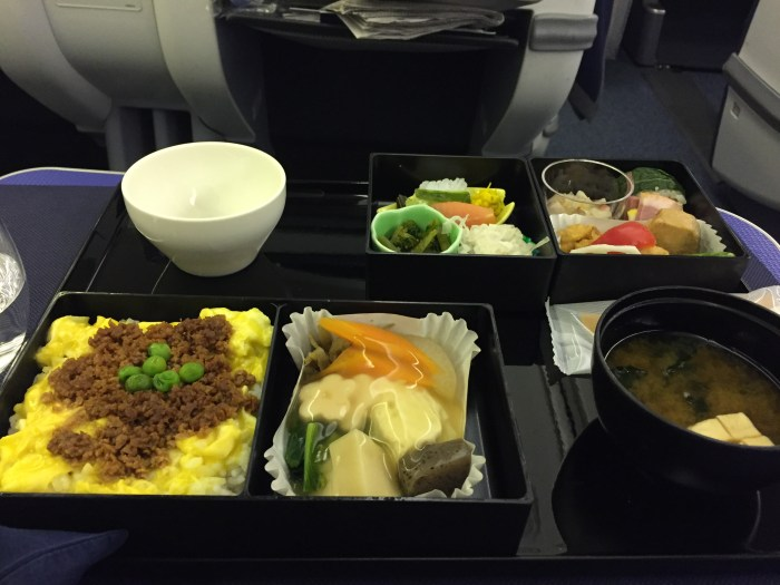 简易的航空餐--中式日餐