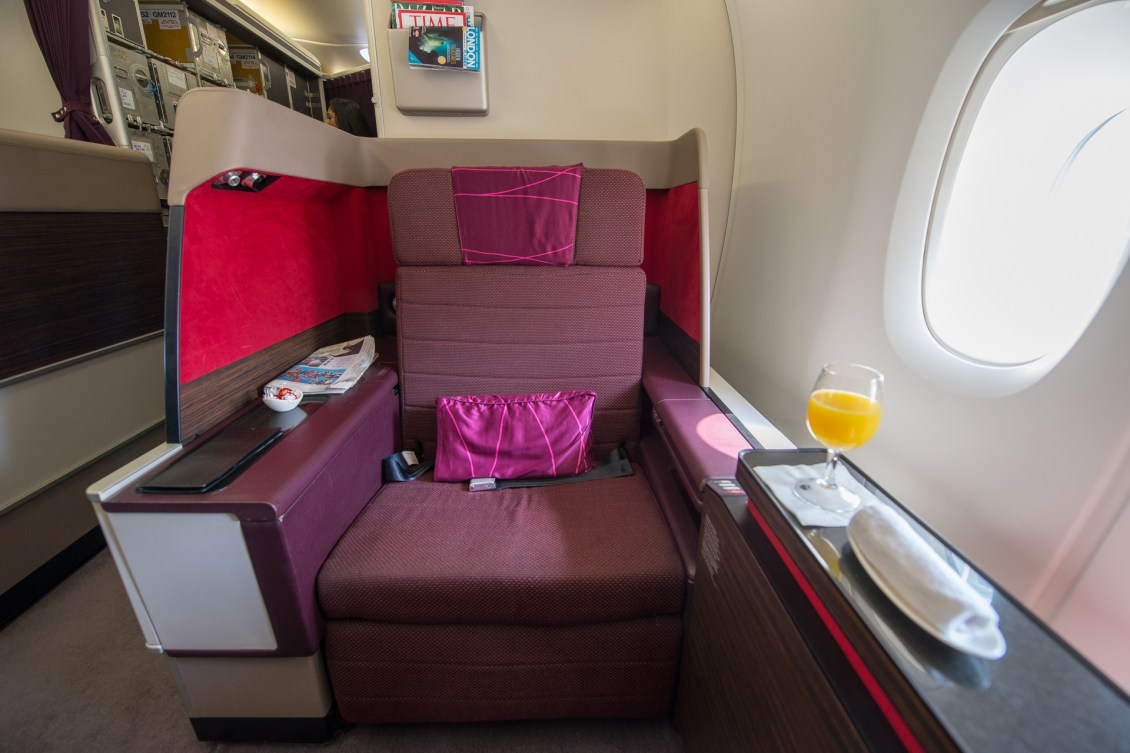 Malaysia Airlines A380 First Class Seat 1