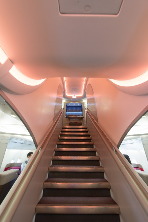 Malaysia Airlines A380 Stairs