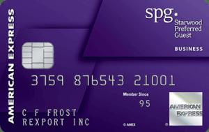AmEx SPG Business 商业信用卡【2018.3 更新:35k 开卡奖励最后一天了】