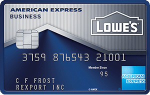 Amex Lowes Business Credit Card Us Credit Card Guide