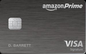 Chase Amazon Prime 信用卡