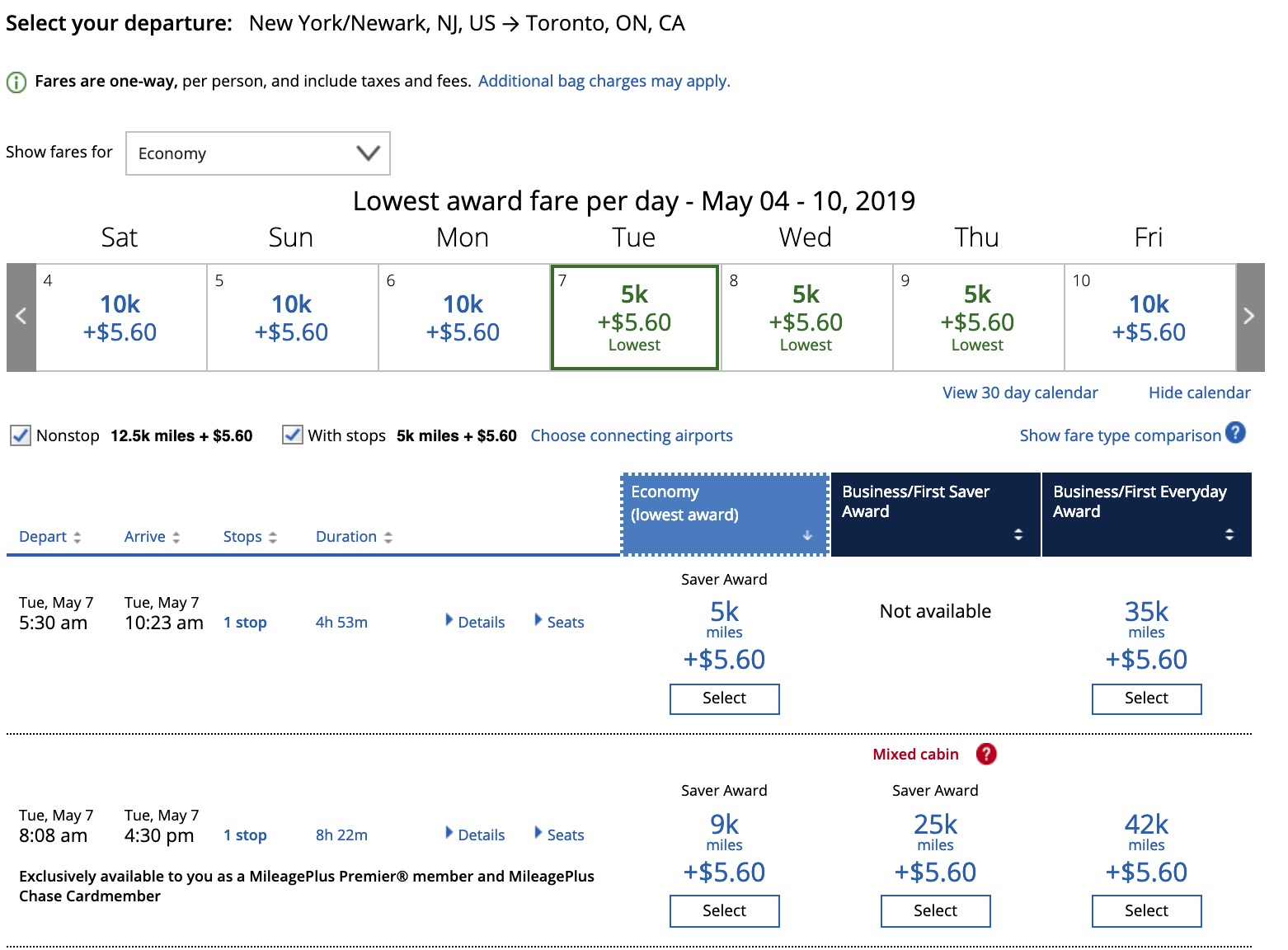 美聯航UA短途8000里程大法 - 美國信用卡指南