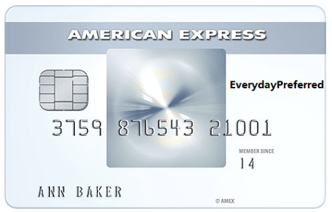 AMEX Everyday Preferred (EDP) - You're the only mine [2/2 Update: open up to 20k reward card]