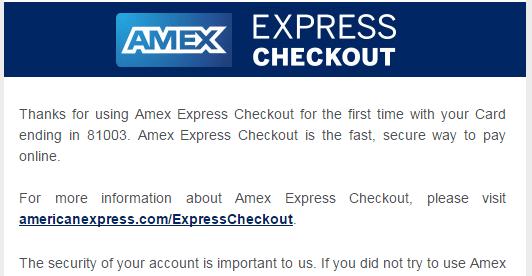【已过期】Amex Check Out——又一把10刀小羊毛