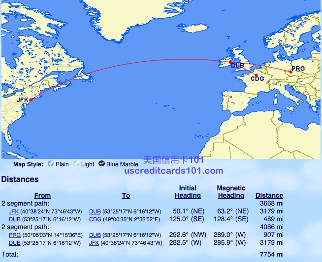 Cathay Pacific Asia Miles mileage introduction (1) China to and from us and European round