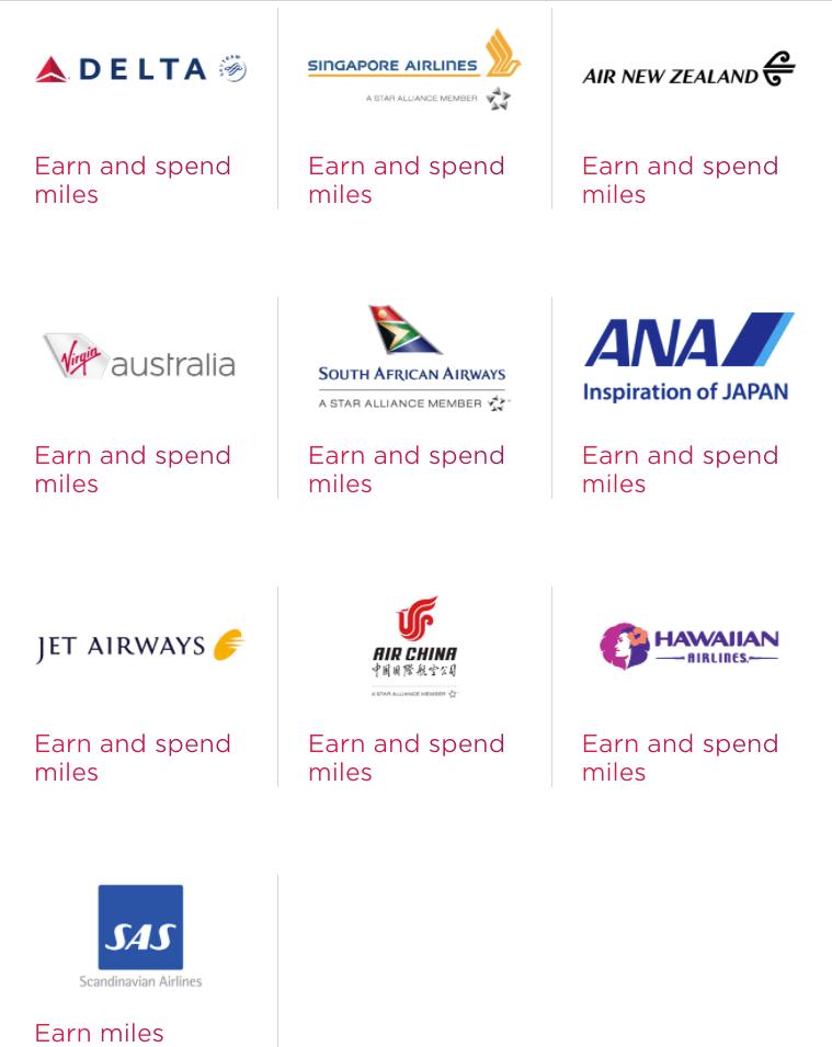 Virgin Atlantic里程介绍 (1) - 里程获得,里程兑换亮点【10/13更新达美和ANA兑换表格】