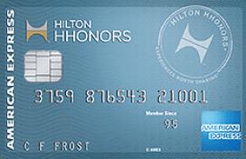 """75k card back,"" AMEX Hilton HHonors credit card profiles"