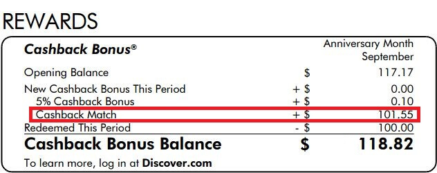 Discover信用卡的双倍返现简介【2/1更新:可能收到1099misc税表】