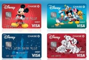 Chase Disney 系列信用卡、Debit卡介绍