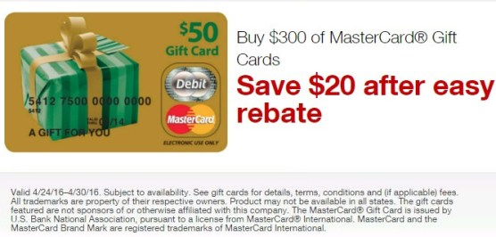 """""""5/19 update: Staples vgc 0 back to """" the latest Visa Gift Card Deal summary"""
