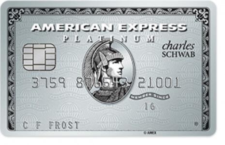 【10/6更新:机票5xMR】AMEX Platinum(Schwab版)信用卡介绍