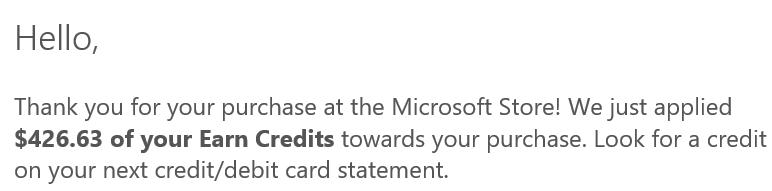Earn By Microsoft 使用指南——白拿返现【10/20更新:好事到头了!】