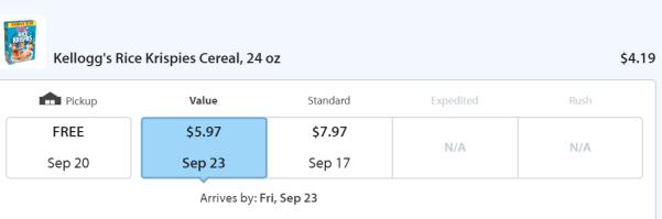 【已过期】Topcashback+Walmart得免费Rice Krispies Cereal,9/16过期