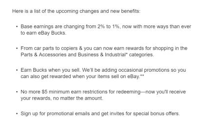 Ebay 省钱和赚钱指南【12/1更新:Ebucks降为1%】