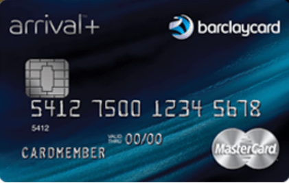 Barclays Arrive Plus Credit card open card to send cash back 0,2x]