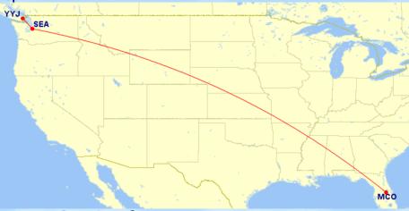 达美里程简介 (3) - 如何用18,000达美里程实现东西海岸往返 (有限制)