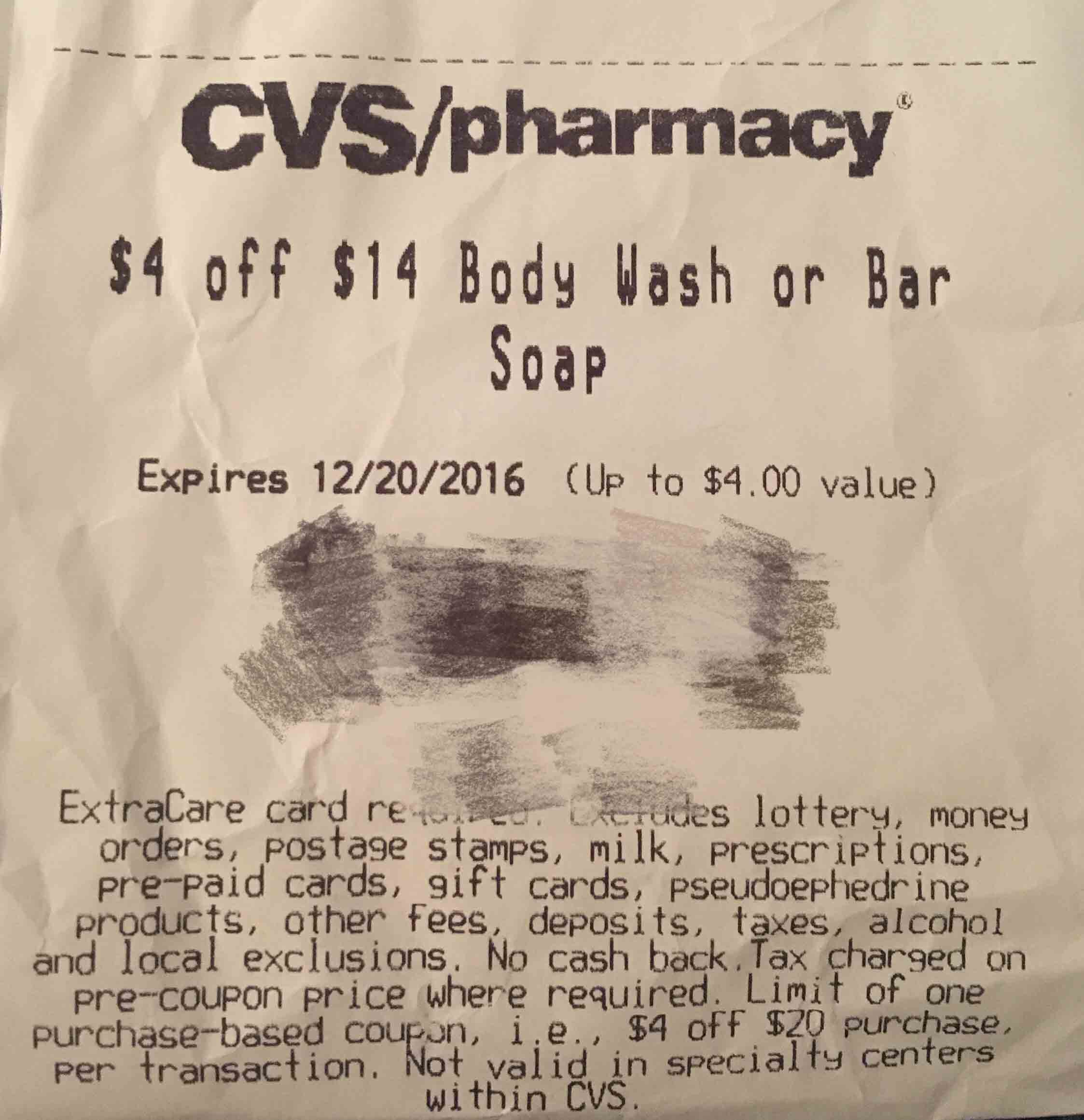 CVS Deal汇总 (12/11/16-12/17/16)