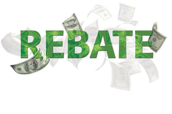 关于购物返点(rebate)