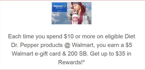 Swagbucks+Dr. Pepper=买返+
