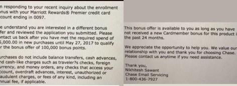 Chase Marriott Premier Credit card open card to send 80k + 7.5k Marriott points! ]