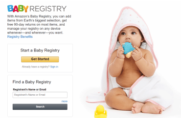 Amazon Baby/Wedding Registry 介绍【4/19更新:Baby Registry买额外送礼品】