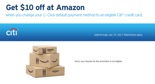 Amazon 1-click free delivery [8/1 Update: Chase also be sent, ymmv]