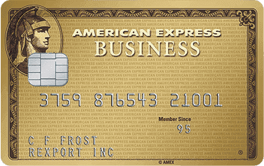 AMEX Business Gold Rewards 商业信用卡