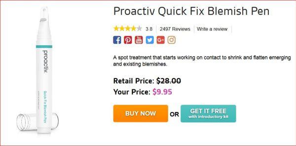 Swagbucks + Proactiv = 一支免费去瑕疵修复笔 + 倒赚 【更新:SB已到,DP显示不用取消subscription】