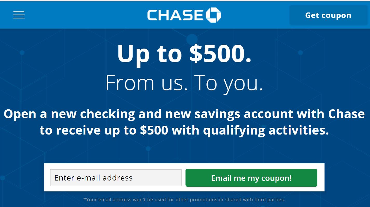 Chase Checking Saving 支票和储蓄账户介绍【开户送0】