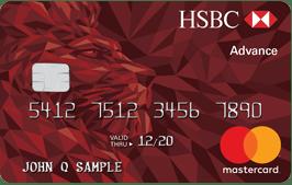 HSBC Advance Mastercard 信用卡【开卡送0】