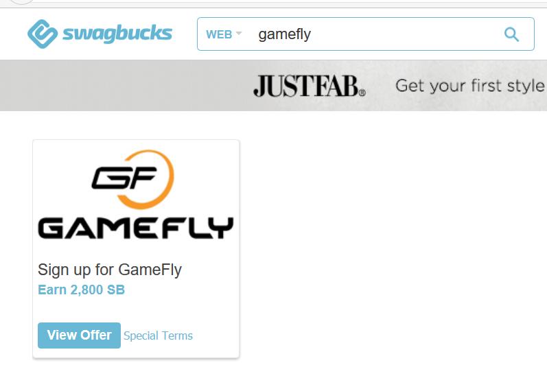 Swagbucks+Gamefly=倒赚+免费游戏/电影【8/21更新:倒赚+两月会员】