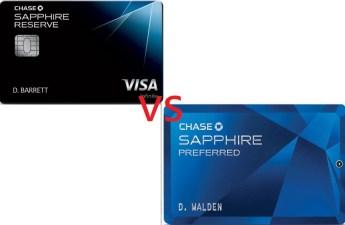 最详细的Chase Sapphire Preferred 和 Sapphire Reserve 对比【附申请策略】