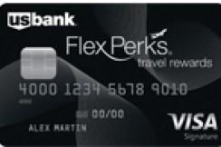U.S. Bank FlexPerks Travel Rewards Visa信用卡【奥运会额外奖励申请链接】
