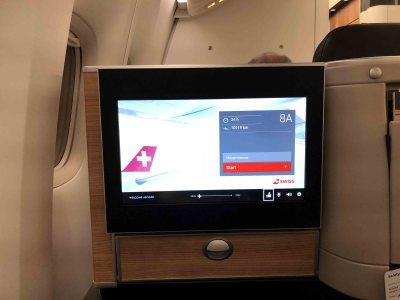 商务舱环游之旅 (2) 瑞士航空:香港-苏黎世