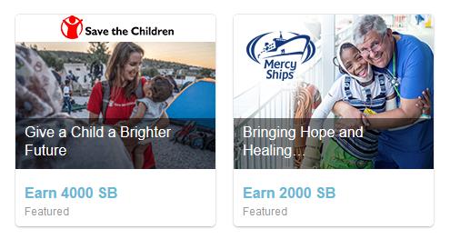 Swagbucks+ProjectHope捐款=倒赚+慈善+抵税