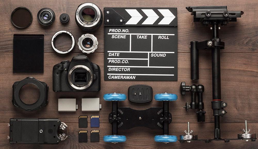 video production equipment checklist