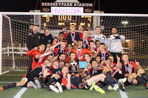 Upper St Clair High School Boys Soccer Ncaa Champions
